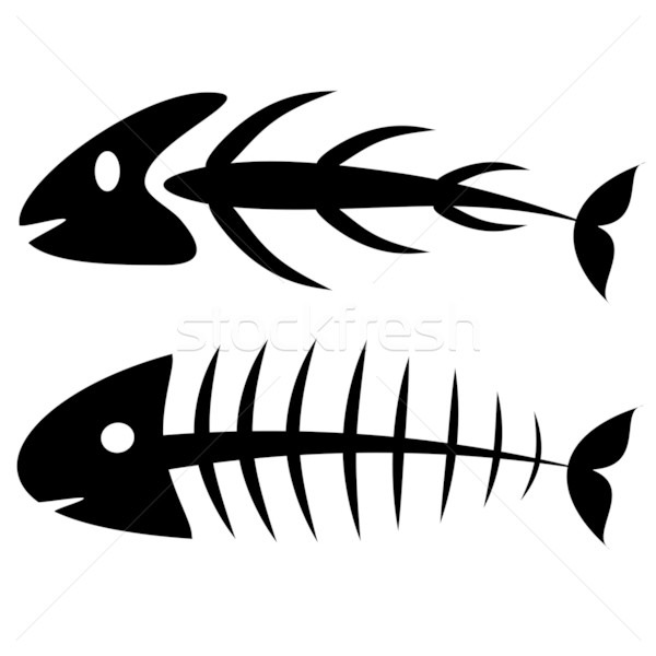 Stock photo: Fishbone