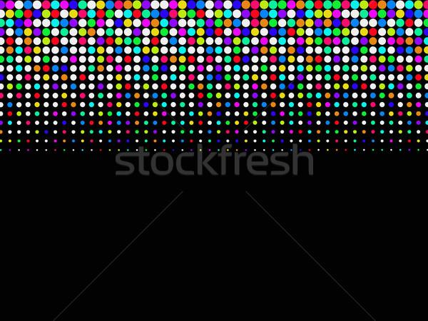Colored halftone background Stock photo © PiXXart