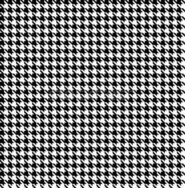 Black-white houndstooth background -seamless Stock photo © PiXXart