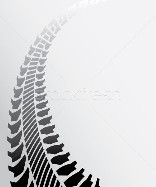tire track background Stock photo © place4design