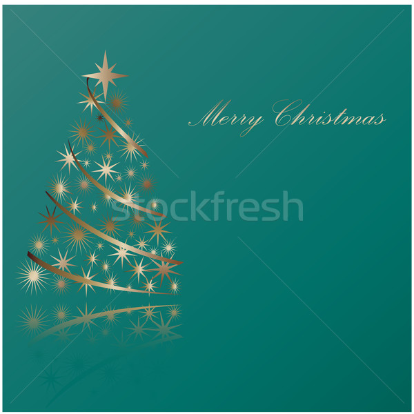 Christmas abstraction - Merry Christmas Stock photo © place4design