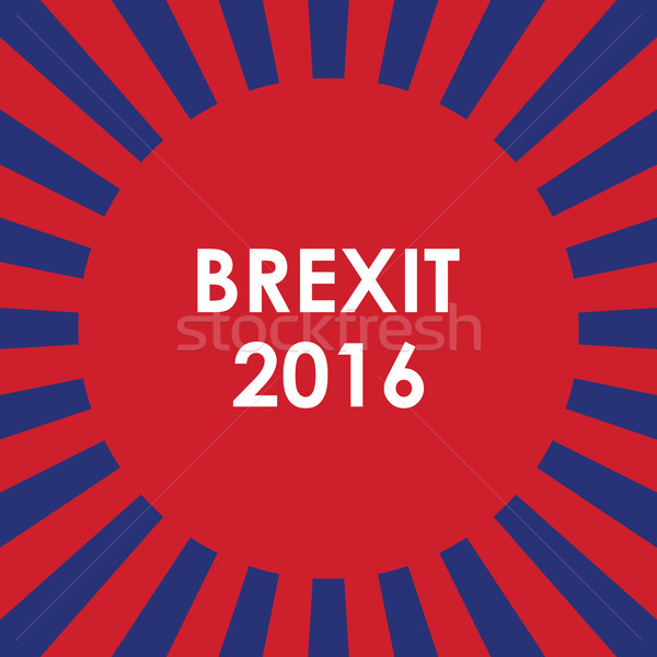 abstract brexit 2016 background  Stock photo © place4design