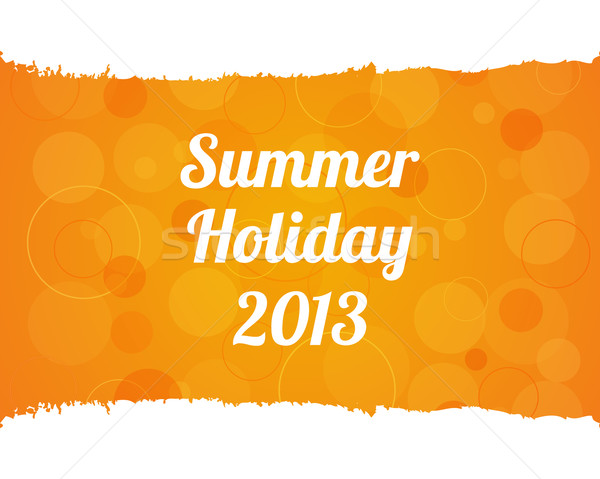 Stock photo: summer background - vector eps10