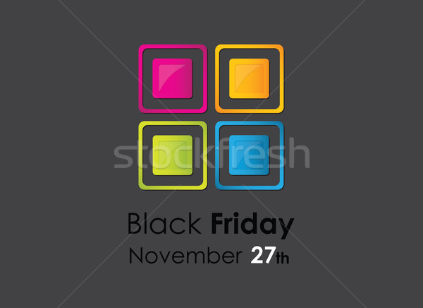 черная пятница специальный дизайна Элементы аннотация Сток-фото © place4design