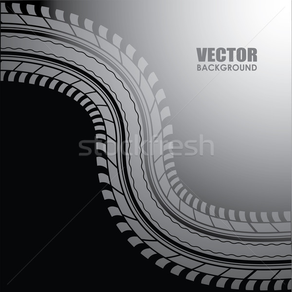 vector background - special tire design Stock photo © place4design