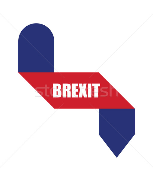 abstract origami design, brexit banners Stock photo © place4design