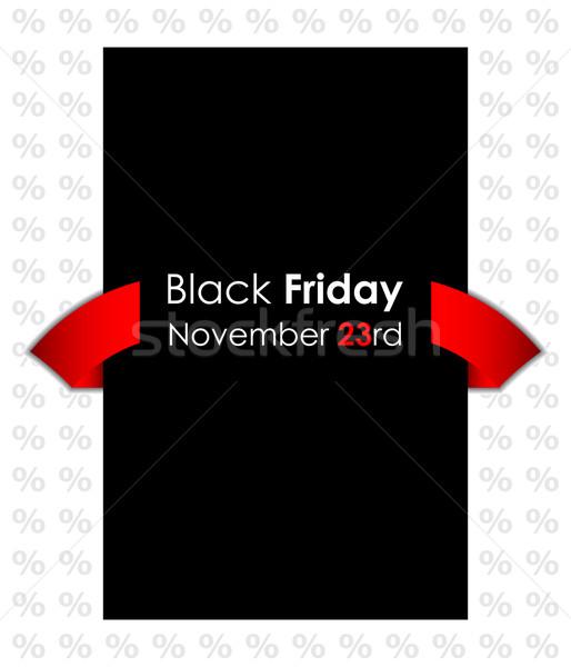 Especial black friday bandeira fundo compras preto Foto stock © place4design