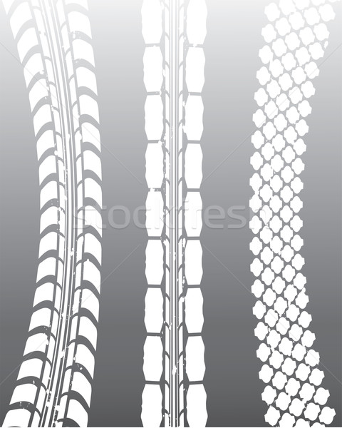 special tire track background Stock photo © place4design