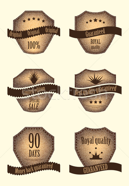 set of special labels with various design Stock photo © place4design