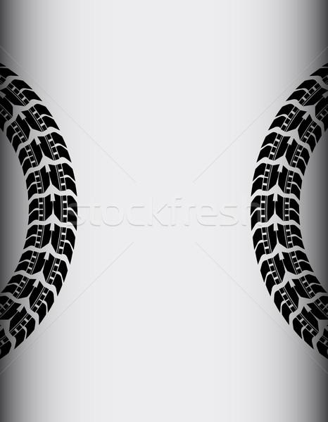 шин трек бизнеса дороги аннотация улице Сток-фото © place4design