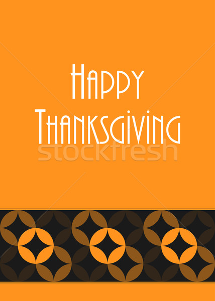 thanksgiving greeting card, special vector design, eps10 Stock photo © place4design
