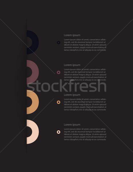 дизайн шаблона специальный современных Элементы бумаги аннотация Сток-фото © place4design