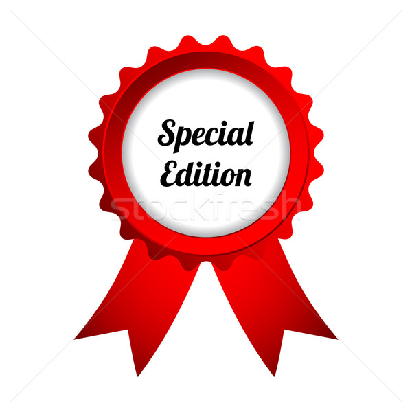 special edition badge Stock photo © place4design