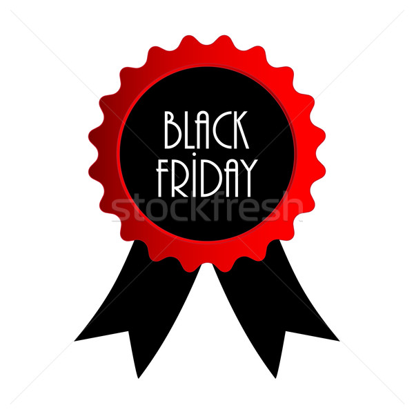 vector Black Friday badge Stock photo © place4design