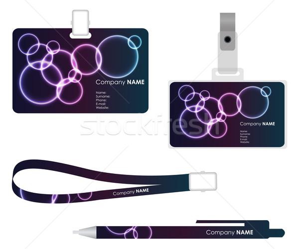 Cartão especial plasma projeto Foto stock © place4design