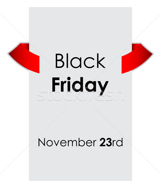 black friday sale tag with special design Stock photo © place4design