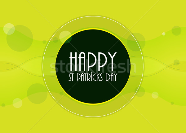 special St.Patrick's day background,vector design, EPS10 Stock photo © place4design