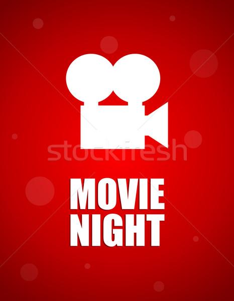 movie night background Stock photo © place4design