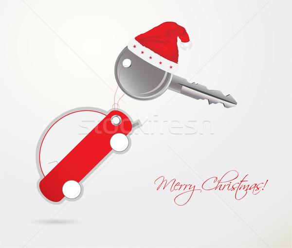 車のキー リモート クリスマス ギフト ビジネス 技術 ストックフォト © place4design