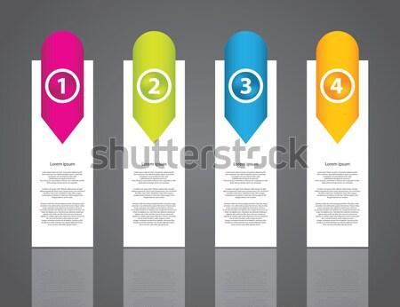 реклама Label набор специальный дизайна веб Сток-фото © place4design
