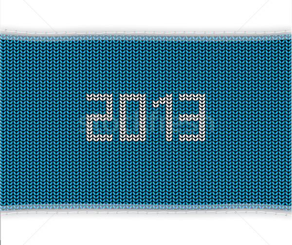 Speciale blu maglia 2013 sfondo inverno Foto d'archivio © place4design
