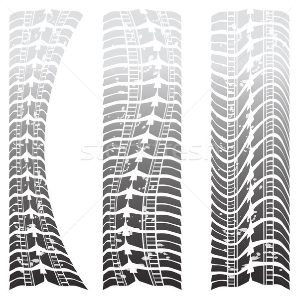 Special tire tracks Stock photo © place4design