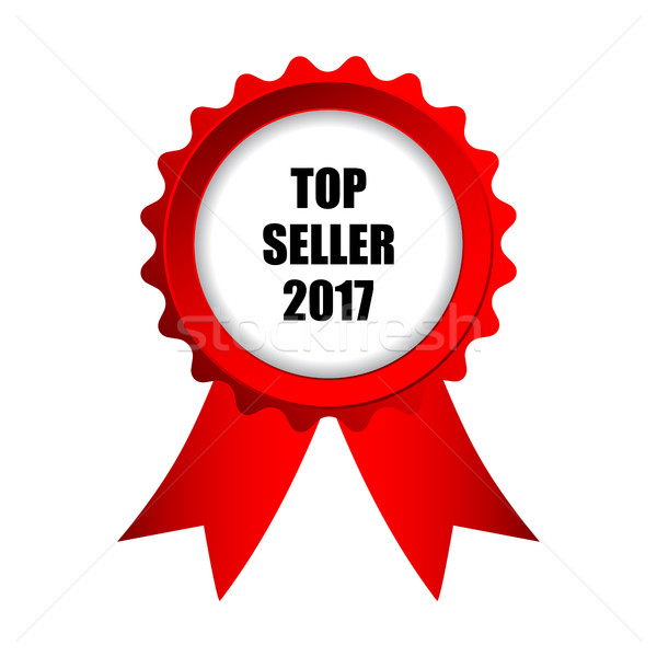 top seller 2017 badge Stock photo © place4design