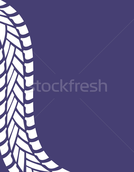 tire track industrial background Stock photo © place4design