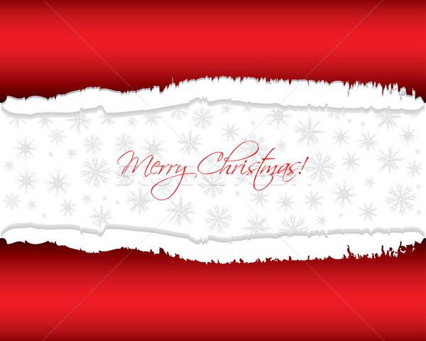 Vermelho natal papel fundo papel de parede branco Foto stock © place4design