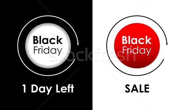 Black friday Umsatz Werbe- Werbung Etiketten Business Stock foto © place4design