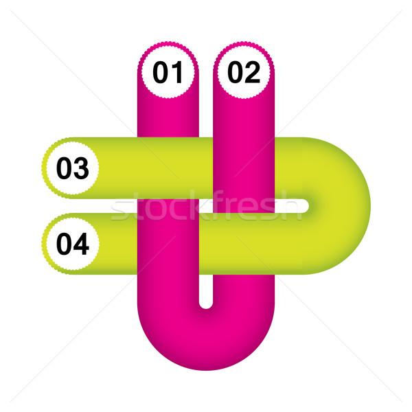 современных Инфографика опции специальный дизайна бизнеса Сток-фото © place4design