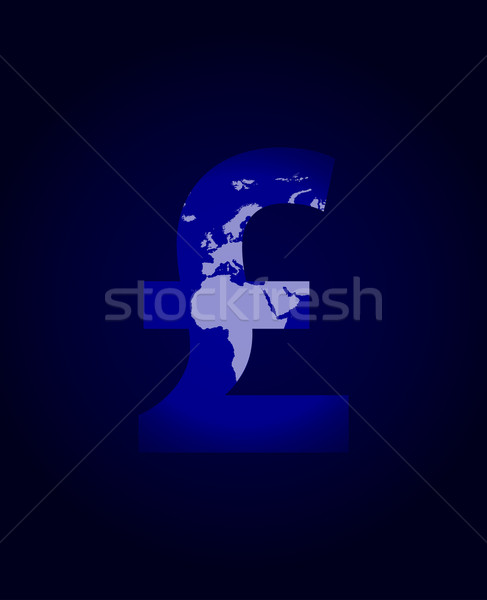 pound sign with plasma design Stock photo © place4design