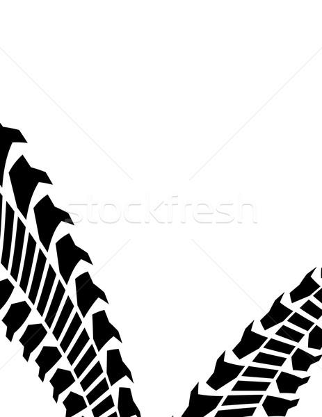 шин трек автомобилей спорт аннотация фон Сток-фото © place4design