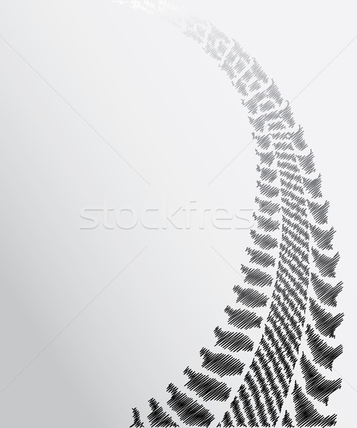 tire track background with special sketch design Stock photo © place4design