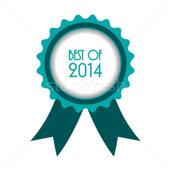 Meilleur 2014 badge design eps10 web Photo stock © place4design