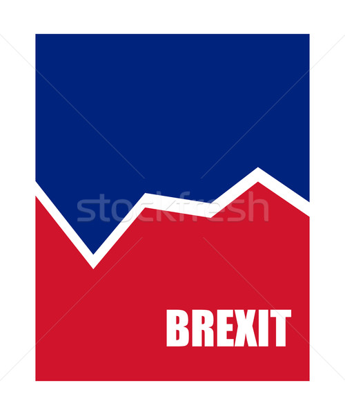 brexit abstract business banner Stock photo © place4design