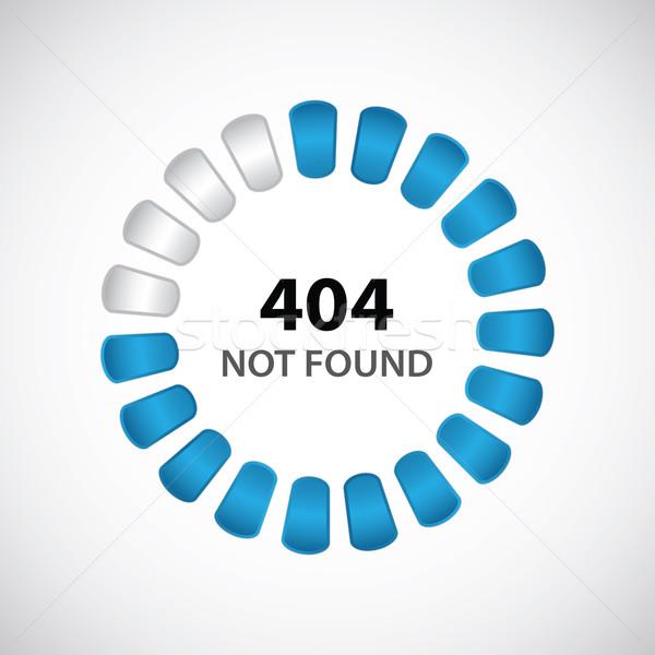 404 error concept with special design Stock photo © place4design
