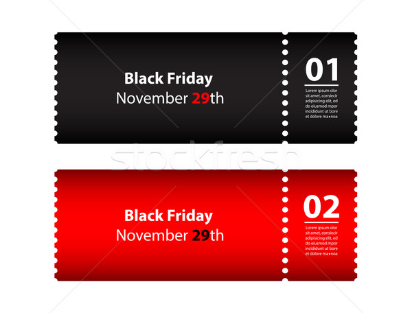 black friday coupon Stock photo © place4design