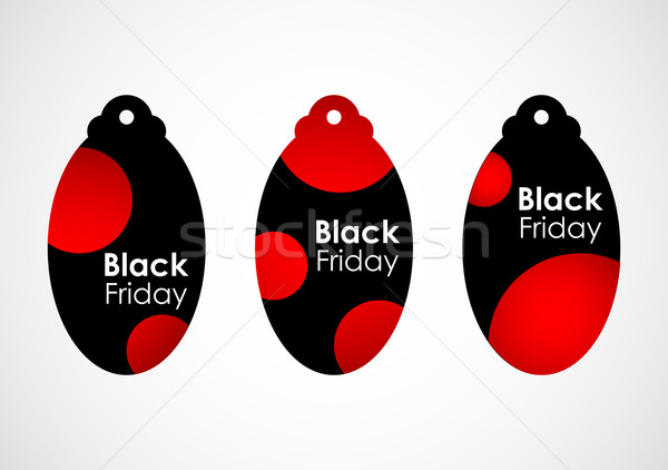 Black friday prijs stippel ontwerp papier Stockfoto © place4design