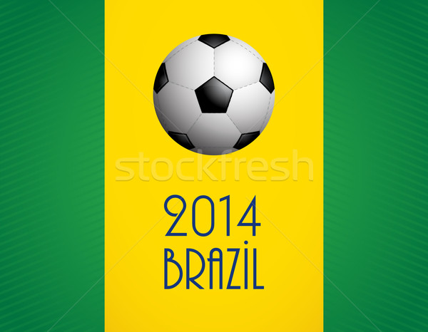 background with a special soccer ball design, vector,EPS10 Stock photo © place4design