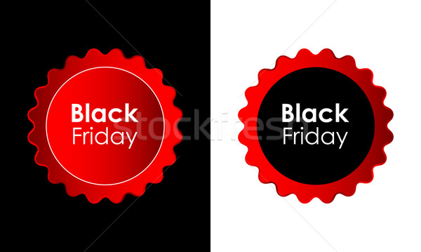 Black friday ventes publicité étiquettes affaires Photo stock © place4design