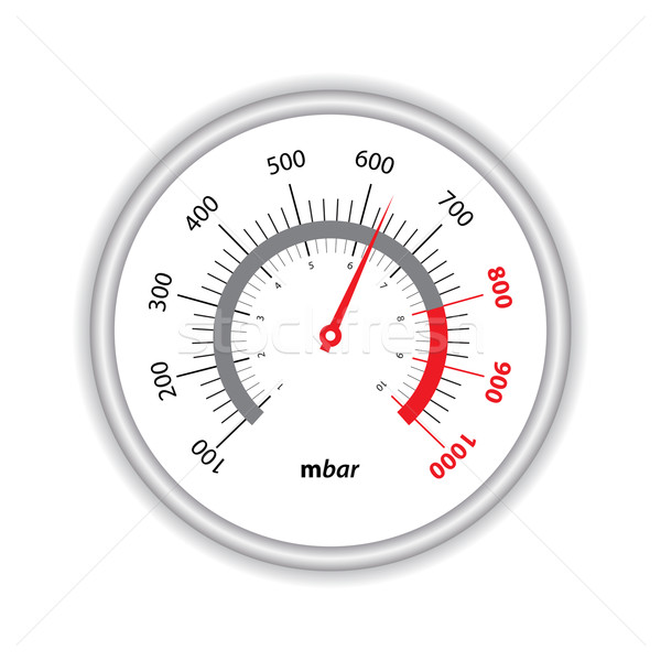manometer on white background Stock photo © place4design