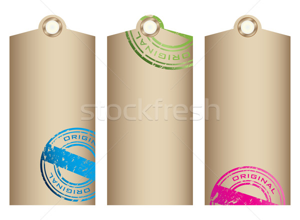 Price tags. Vector Stock photo © place4design