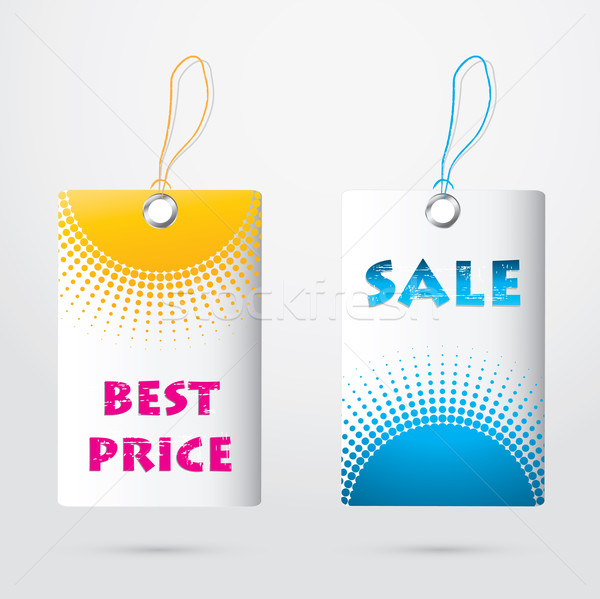 special price tags Stock photo © place4design