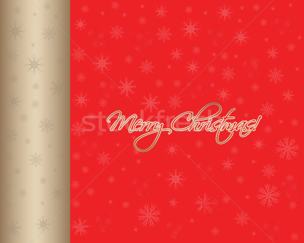 Vector Christmas background Stock photo © place4design