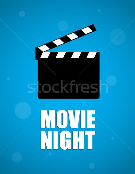 movie night background Stock photo © place4design