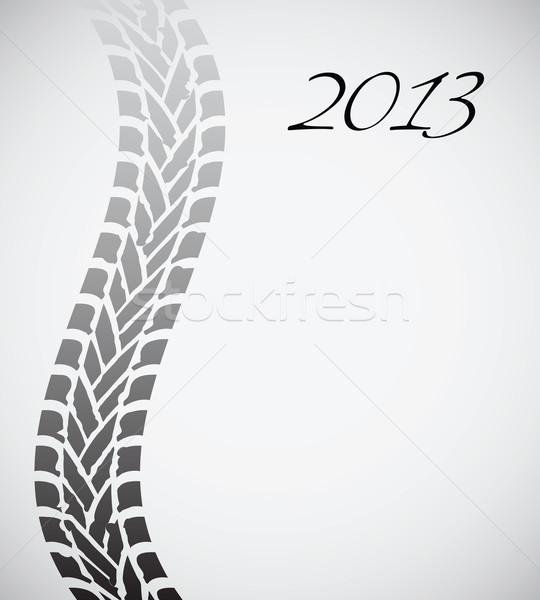 út autógumi útvonal különleges terv 2013 Stock fotó © place4design