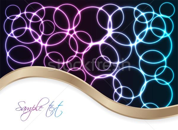 плазмы специальный дизайна пространстве синий энергии Сток-фото © place4design