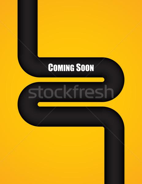 Hamarosan jön különleges terv számítógép munka művészet Stock fotó © place4design