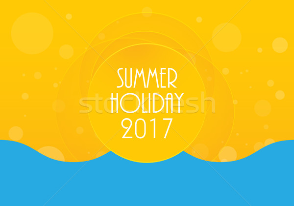 Summer holiday abstract background, energy, relax and spa,  Stock photo © place4design